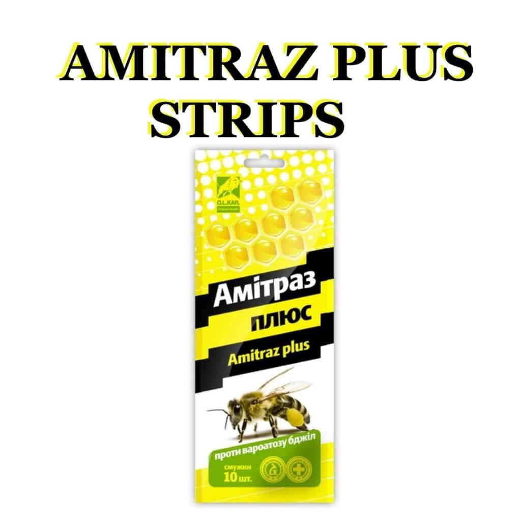 Amitraz Plus Beekeeping Prevention of Varroatosis Varroa Bee Strips 10 pcs