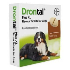 drontal plus puppy for dogs cat wormer