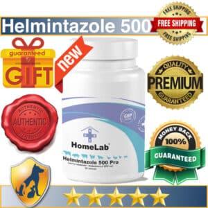 Helmintazole 500mg capsules 36 Fenbendazole panacur