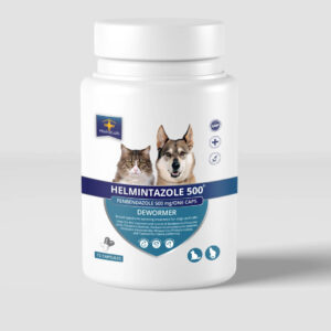 Helmintazole 500mg capsules Fenbendazole panacur for dog