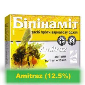 Bipinamite combat varroatosis (varoosis) of bees (10 amp)