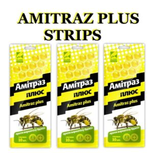 Amitraz strips honey bee mite treatment taktic