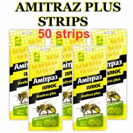 Amitraz strips honey bee mite treatment