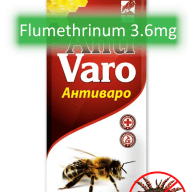 antivaro varroa mite treatment