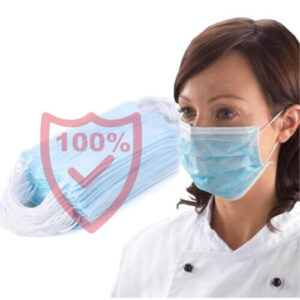 Disposable Medical Dental Industry Dust Proof Face Mask Respirator - 50pcs