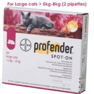 Profender Large for cats online pet pharmacy