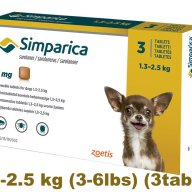 simparica-simparika Flea control for Dogs