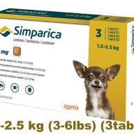 simparica-simparika Flea control for Dogs