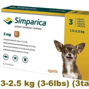 simparica Flea control for Dogs online pet pharmacy