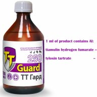 tiamulin hydrogen fumarate tylosin tartrate 250