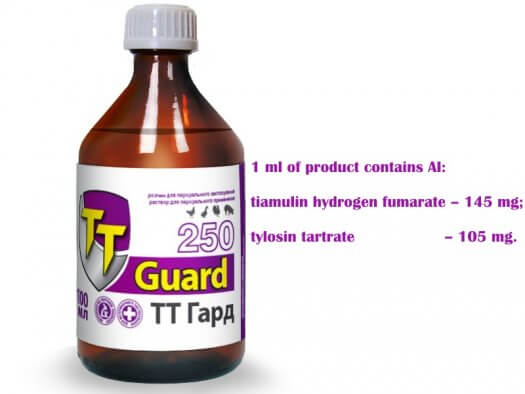 tiamulin hydrogen fumarate tylosin tartrate 250