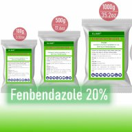 fenbendazole powder panacur for dogs and cats canine dewormer