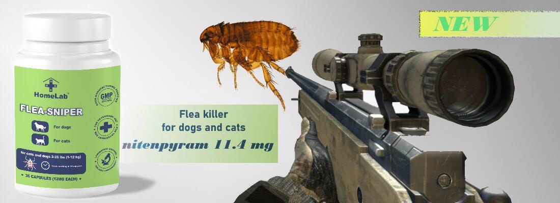nitenpyram 11.4 mg (Flea-Sniper)