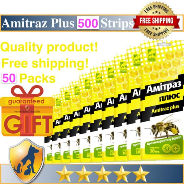 500 Amitraz Plusamitraz for sale 12.5 (taktic) for bees shop