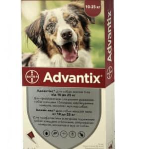 bayer advantix K9 II for Dogs | For Veterinary homelabvet price for dogs up to 25 kg