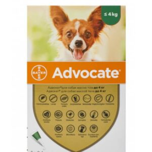 bayer advocate for dogs up to 4 kg online pet pharmacy
