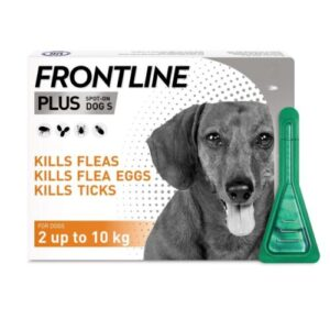 Fleas and Ticks Control for Dogs S size, 2-10 kg - 1pip