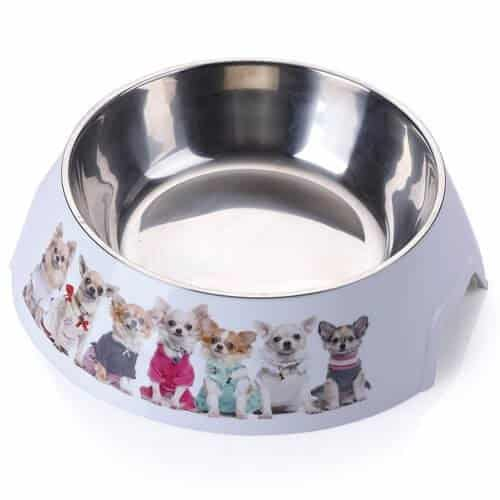 AnimAll plastic bowl with metal dog insert - 1.5 litres