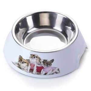 AnimAll plastic bowl with metal dog insert - 700 ml