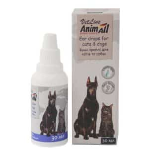 Ear drops for cats and dogs, 30 ml