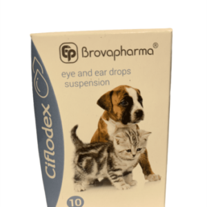 Ciflodex eye and ear drops for dogs and cats