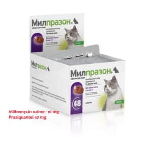 Milbemycin Praziquantel milprazon for cats