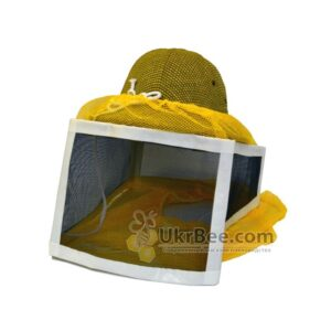 beekeeper hat with a metal grid, USA