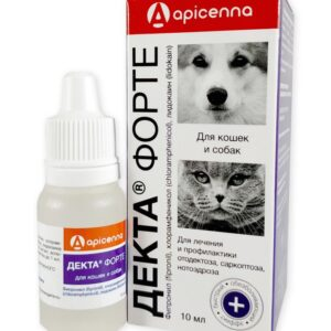 Deka forte for Dogs and Cats ear drops 10 ml