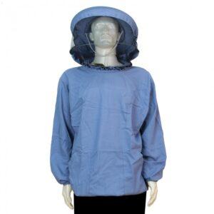 Jacket beekeeper (natural fabric), round cap