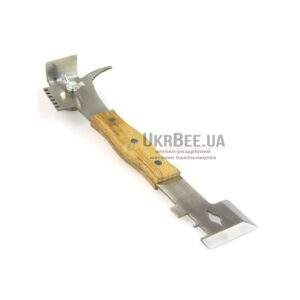 """Nailing with chisel-picked """"New-Profi-270"""" + stainless steel handle tree"""